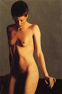 nudo, modella by luciano ventrone