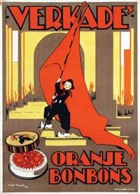 verkade's oranje bonbons by nico baak
