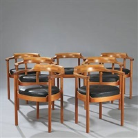 dining room suite (set of 10) by henning jensen and torben valeur