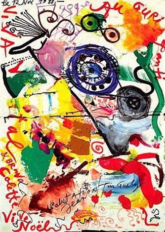 Vive Noel Colette vive Noël by Jean Tinguely on artnet
