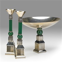 centerpiece set (3 works) by gucci (co.)