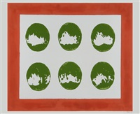 sei ovali verdi by turi simeti