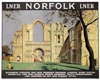 norfolk (poster) by anton van anrooy