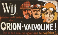 orion-valvoline zaandam by posters: advertising