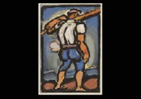 chemineau from passion by georges rouault