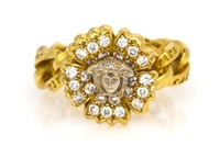 ring by gianni versace