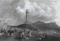 calton hill, edinburgh by lieutenant colonel robert batty