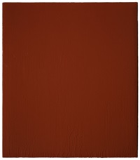 painting # ii - 79 (red orange) by joseph marioni