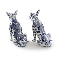 lost dog (dragon & phoenix) (set of 2) by aurèle