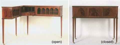 gentlemans writing desk by brian tolle