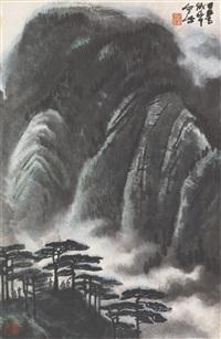 landscape by li keran