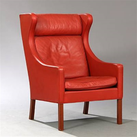 Highback Easy Chair (model 2204) By Børge Mogensen