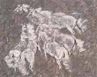 六匹马 (six horses) by tomos
