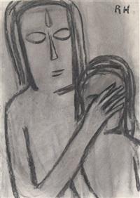 die heilung des blinden knaben by richard haizmann
