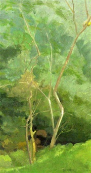 young thorn trees by barbara warren