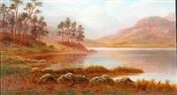 blea tarn, westmorland by everett w. mellor