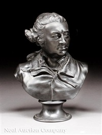bust of actor and playwright david garrick by wedgwood