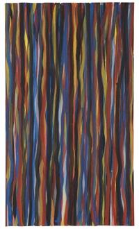 vertical brush strokes by sol lewitt