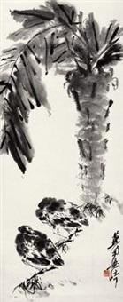 禽憩图 by liang qi