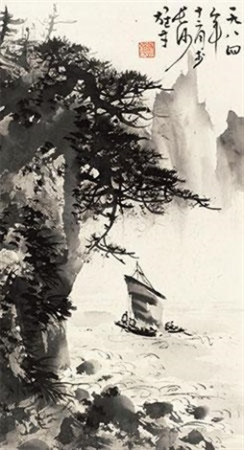 松照风帆 by li xiongcai