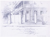 301 east bay street, charleston by alice ravenel huger smith
