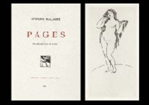 pages bk w1 work text by stephanie mallarme by pierre auguste renoir