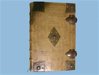 bibel (bk by martin luther, caspar mangoldt w/ frontispiece) by johann jakob arhardt