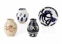 various works (set of 4) by takeo yamaguchi