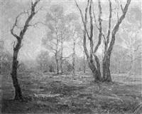 impressionist landscape by lee f. hersch