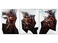 untergang ohne umarmung (triptych) by günter firit