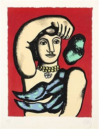 marie l'acrobate by fernand léger