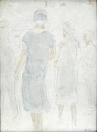 spaziergängerinnen by richard gessner