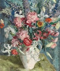 blumen in einer vase by cathleen s. mann