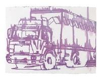 truck, vorzeichnung zum by andy warhol