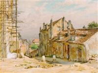 auf dem montmartre in paris by alfred renaudin