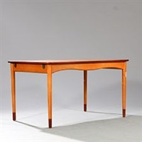 dining table with extension by finn juhl