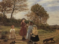 the flower pickers by james archer