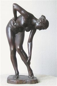 badendes mädchen (badende) by wilhelm lehmbruck