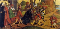 christ on the road to calvary by german school-cologne (16)