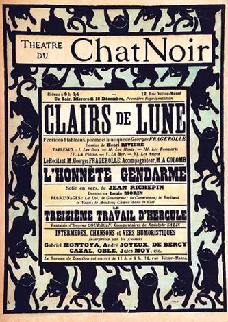 Théâtre Du Chat Noir Clairs De Lune By Henri Rivière On Artnet
