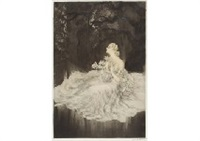 lilies by louis icart