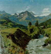 hahnenristhorn by edouard walter racine