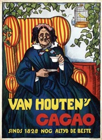 van houten's cacao by willy sluijter