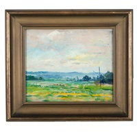 summer rural landscape by wayman adams