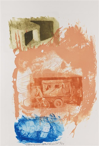 retreat from ground rules by robert rauschenberg