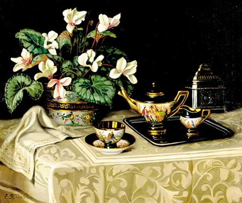 tea service by er nash