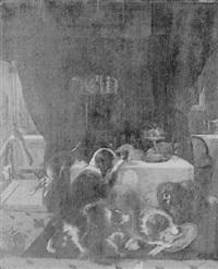 le festin des chiens by édouard-joris moerenhout