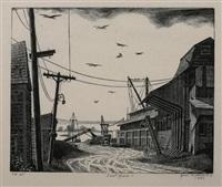 coal yard by grace arnold albee