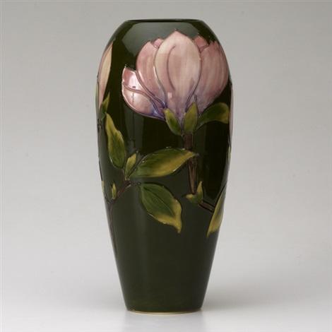 Vase In Magnolia Pattern By Moorcroft On Artnet