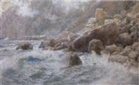 kystparti fra capri by max merker
